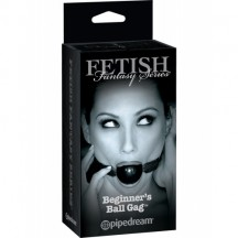 Кляп FF Series Limited Edition Beginner's Ball Gag Black