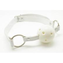 Белый кляп-шар