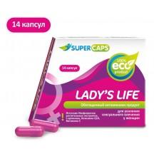 Средство возбуждающее для женщин Ladys Life 14 капсул