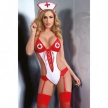 Эротическое боди сексуальной медсестры Cascadia S/M