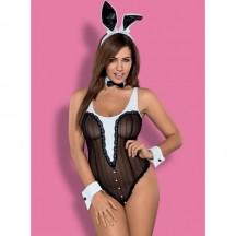 Эротическое боди кролика с ушками Bunny teddy L/XL