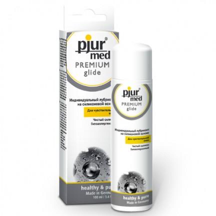 Гипоаллергенный силиконовый лубрикант pjur Med Premium glide 30 ml