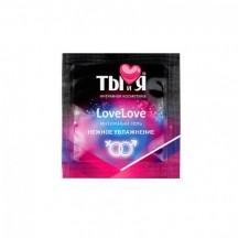Интимный гель LoveLove увлажняющий 4 г, пробник