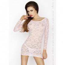 Розовая сорочка Yolanda XXL/XXXL