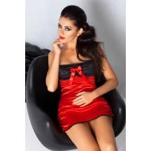 Красная короткая сорочка Lena L/XL