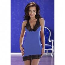 Синяя сорочка Cora S/M