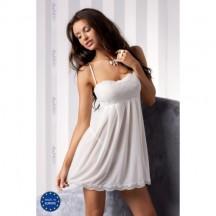 Сорочка с трусиками прозрачная Nicolette cream
