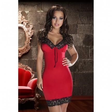 Красная сорочка Natasha XXL/XXXL