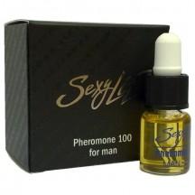 Концентрат феромонов для мужчин Sexy life 100%
