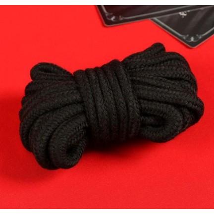 Эротический набор 50 оттенков страсти: веревка, 2 кубика, фанты