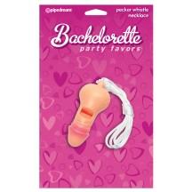 Свисток в виде пениса Bachelorette Party Favors Pecker Party Whistle