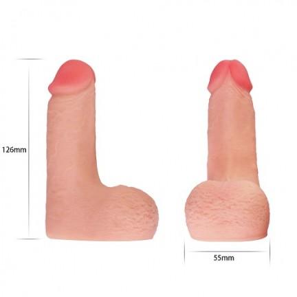 Фаллос для ношения Skinlike Limpy Cock 5,5 in
