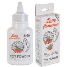Пудра для игрушек Love Protection с ароматом апельсина 30 гр