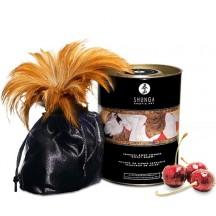 Съедобная пудра для тела Shunga Blazing Cherry с ароматом вишни 228 гр