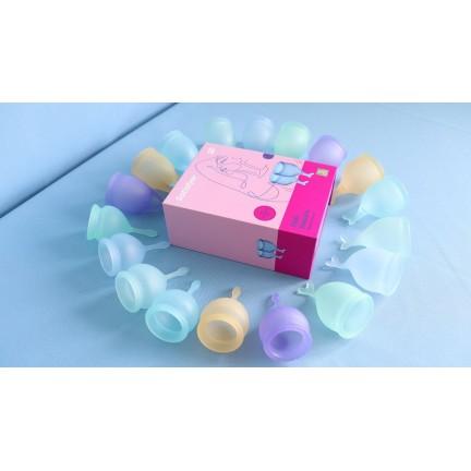 Набор менструальных чаш Satisfyer Feel Secure, прозрачный