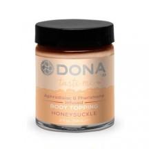 Карамель для тела с феромонами и афродизиаками Dona - Body Topping Honey Suckle 60 мл