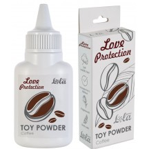 Пудра для игрушек Love Protection с ароматом кофе 15 гр