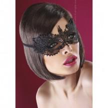 Черная кружевная маска Mask Black Model 12