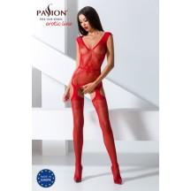 Сексуальный боди-комбинезон красного цвета, BS062, размер S/L