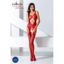 Эротический боди-комбинезон красного цвета, BS057, размер S/L
