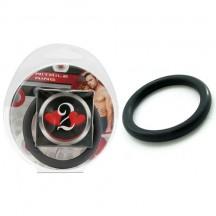 Нитриловое эрекционное черное кольцо d=45 мм