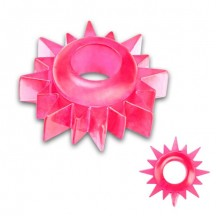 Розовое кольцо на пенис Topgear для эрекции