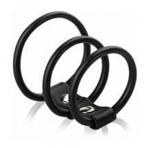 Три эрекционных кольца на ремешке