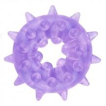 Кольцо эрекционное Heavy Cock Ring фиолетовое