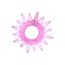 Эластичное розовое кольцо для эрекции Toyfa