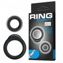 Набор из двух эрекционных колец Ring Manhood
