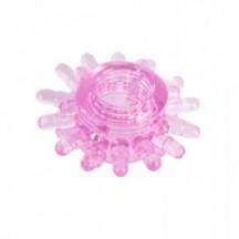 Тянущееся розовое кольцо Toyfa для эрекции