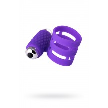 Эластичное виброкольцо Dibe Adma фиолетового цвета