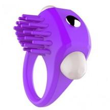 Эрекционное кольцо пурпурное с вибрацией