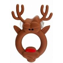 Виброкольцо Бешеный Олень Red Nosed Reindeer