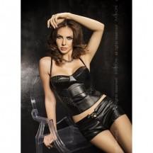 Эротический черный комплект Verona S/M