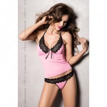 Эротический комплект Kalypso розовый S/M