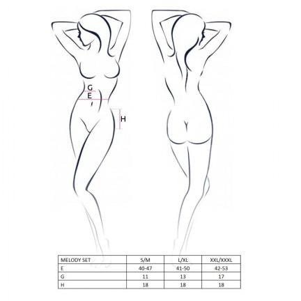 Комплект балерины Melody Set XXL/XXXL