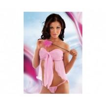 Топ и стринги розовые Dafne M/L