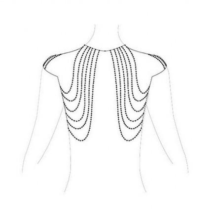 Бикини-цепочка Bijoux Magnifique Chain Shoulders Back Jewelry Silver серебристая