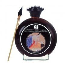 Декоративная крем-краска для тела Шоколадное искушение Shunga 100 мл
