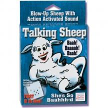 Надувная говорящая овечка