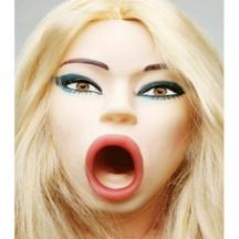 Кукла для секса с открытым ртом 3D Face Love Doll
