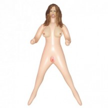 Надувная кукла с каштановыми волосами