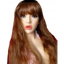 Кукла для секса реалистичная с металлическим скелетом 135 см