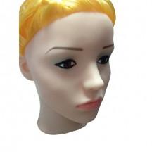 Кукла для секса с вибрацией 3D Face Love Doll блондинка
