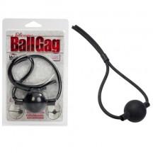 Кляп из силикона черный Ballgag