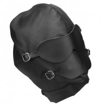 Бондажный шлем с кляпом