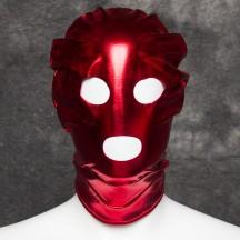 Красная блестящая маска