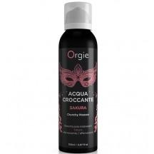 Шипучая увлажняющая пена для чувственного массажа Orgie Acqua Croccante Sakura, 150 мл
