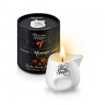 Свеча с массажным маслом Секретный сад 80 мл